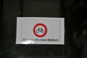 Es ist ein Radsporthotel, wie man sieht.