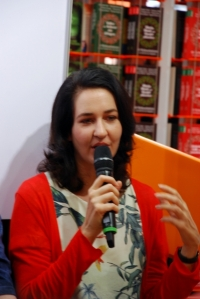 Carla Federico im Gespräch