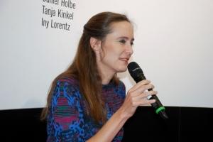 Tanja Kinkel im Gespräch