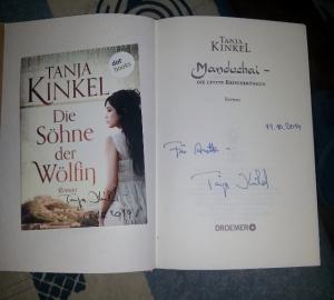 Meine Tanja-Kinkel-Autogrammausbeute