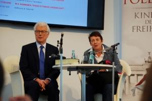 Ken Follett und Margarethe von Schwarzkopf