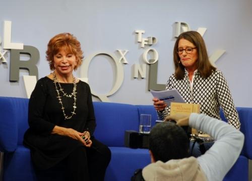 Gefragtes Fotomotiv: Isabel Allende