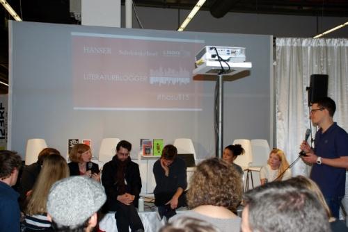 Treffen der Literaturblogger im Organism Space